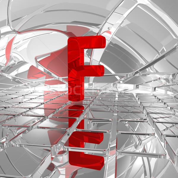 f in futuristic space Stock photo © drizzd