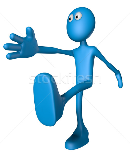 blue guy marshes Stock photo © drizzd