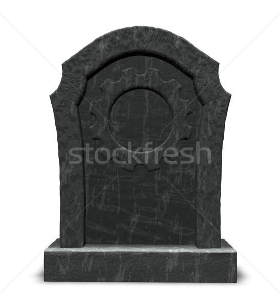 Stock photo: dead industry
