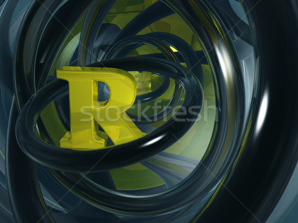 letter r Stock photo © drizzd