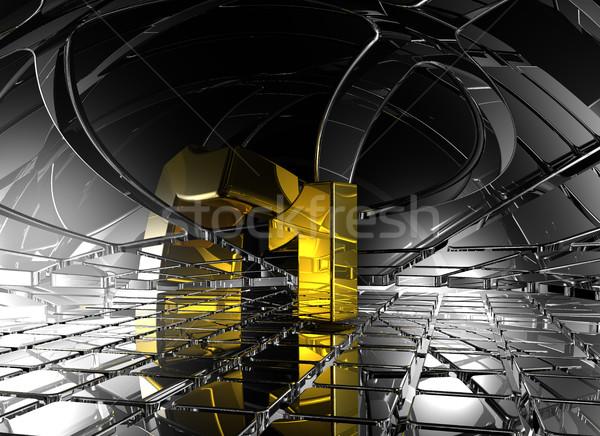 第一 抽象 未來派 空間 3D 商業照片 © drizzd