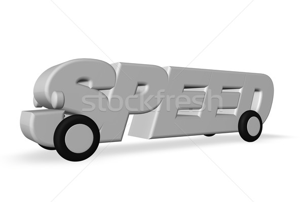speed Stock photo © drizzd