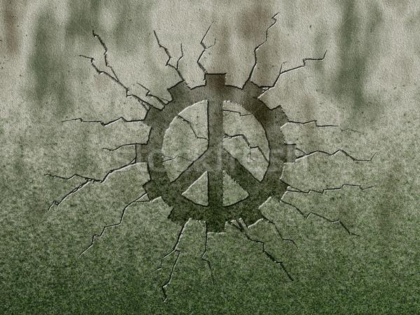 Stok fotoğraf: Barış · dişli · tekerlek · simge · taş · Metal