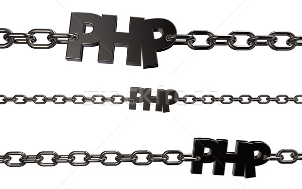 php tag Stock photo © drizzd