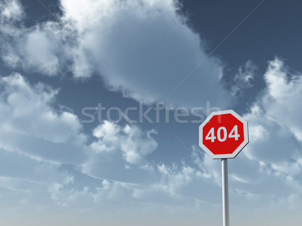 error 404 Stock photo © drizzd