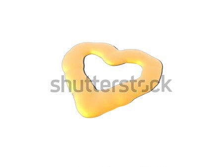 golden heart Stock photo © drizzd
