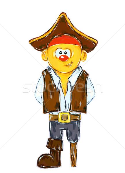 pirate Stock photo © drizzd