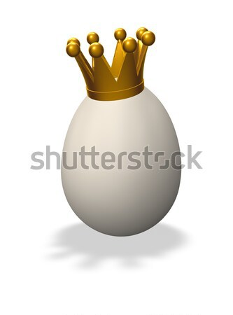 Stock photo: king egg