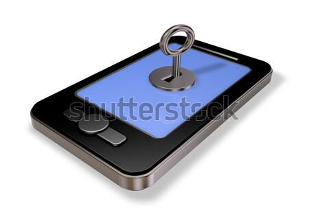 smartphone security Stock photo © drizzd