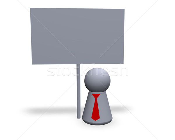 blank sign Stock photo © drizzd