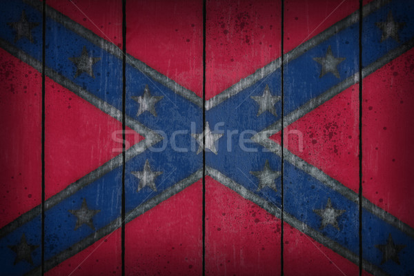 Confederate National Flag Stock photo © drizzd