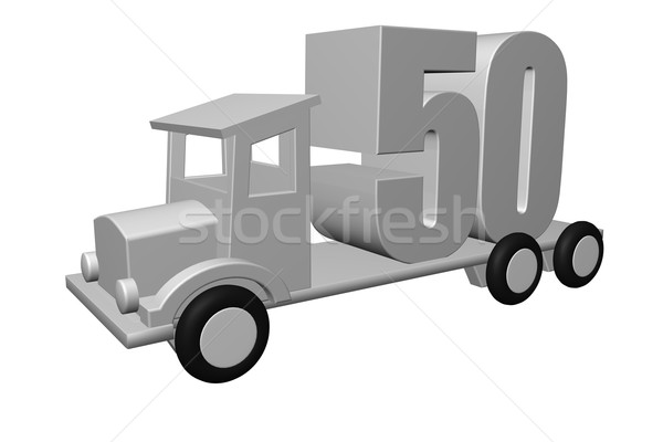 fifty Stock photo © drizzd