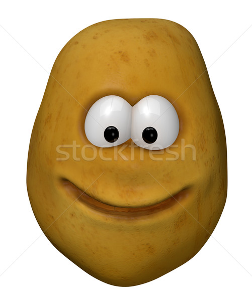 potato face Stock photo © drizzd
