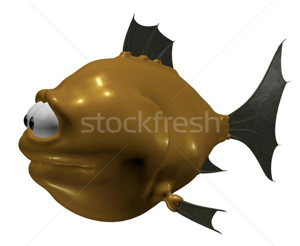 cartoon fish Stock photo © drizzd