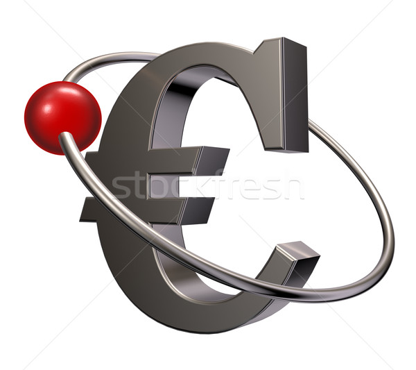 евро орбита красный сфере лет вокруг Сток-фото © drizzd