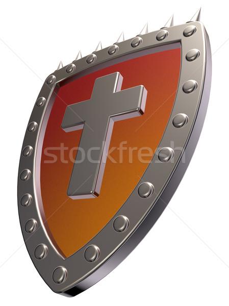 christian shield Stock photo © drizzd