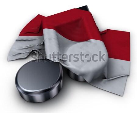музыку сведению символ флаг 3D Сток-фото © drizzd