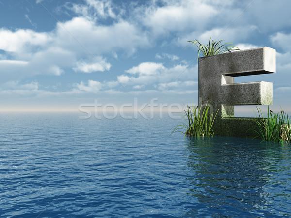 letter E Stock photo © drizzd