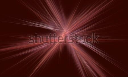 Nyaláb absztrakt illusztráció fény robbanás vonalak Stock fotó © drizzd