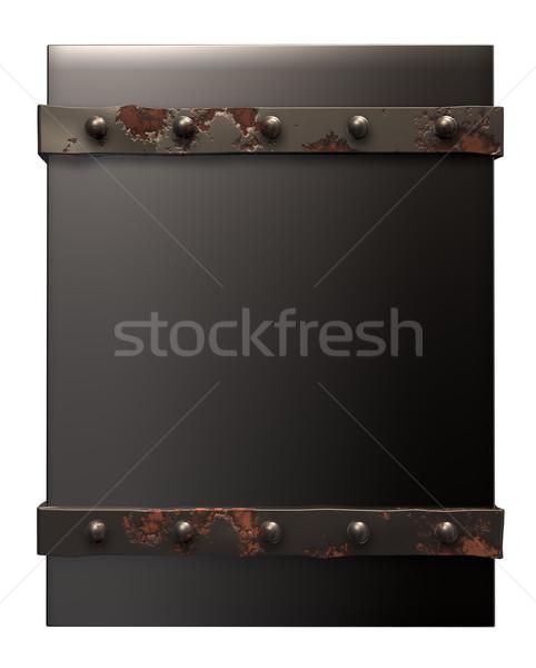 metal box Stock photo © drizzd