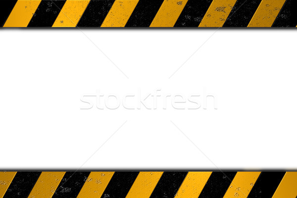 warning bars Stock photo © drizzd