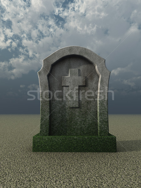 tombstone Stock photo © drizzd