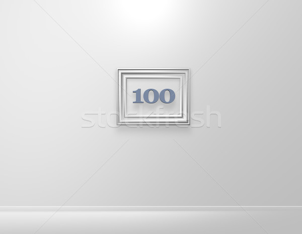 one hundred Stock photo © drizzd