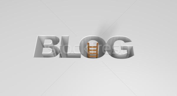 ブログ 言葉 はしご 3次元の図 ニュース コミュニティ ストックフォト © drizzd