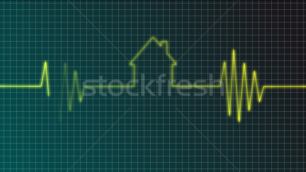 Stock photo: real estate market