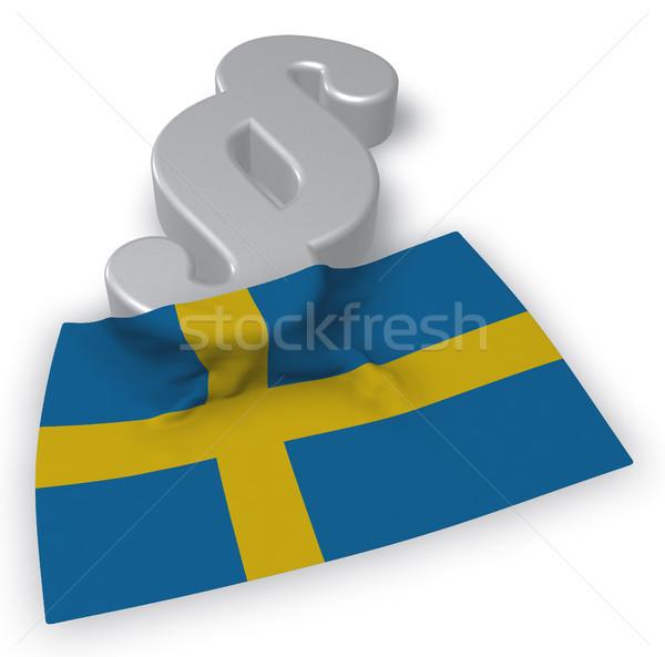 schwedische justiz Stock photo © drizzd
