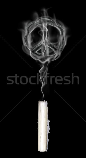 smoke pacific symbol Stock photo © drizzd