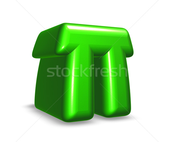letter pi Stock photo © drizzd