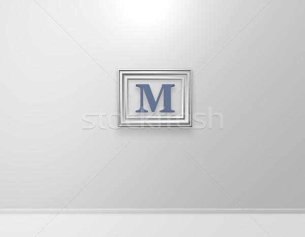 m art Stock photo © drizzd