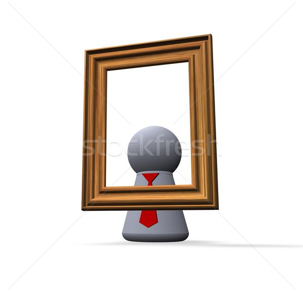 self portrait Stock photo © drizzd