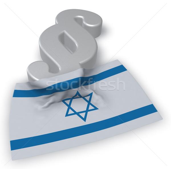 пункт символ флаг 3D Сток-фото © drizzd