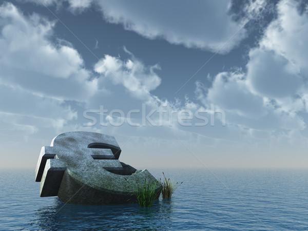 fallen euro Stock photo © drizzd