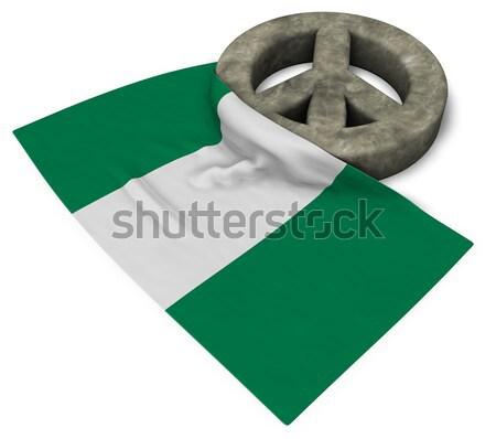 Symbool vlag 3D seks kruis Stockfoto © drizzd