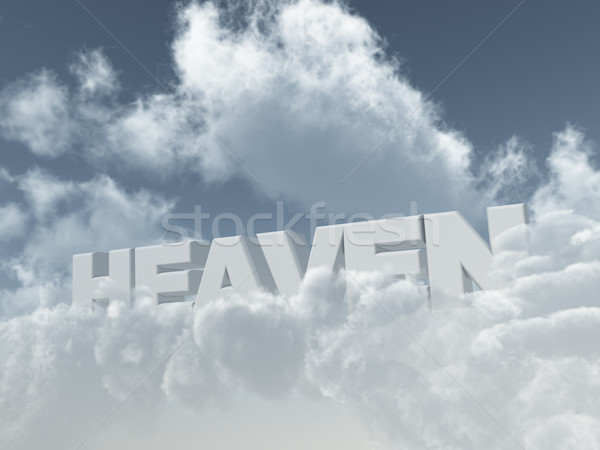 heaven Stock photo © drizzd