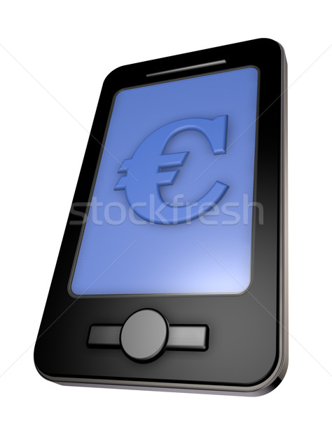 smartphone business Stock photo © drizzd