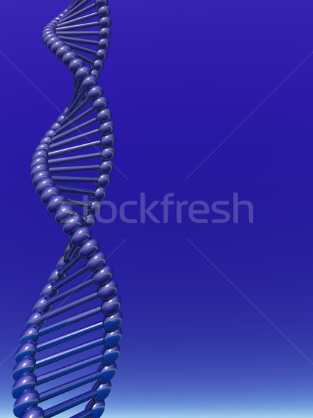 Dna violet 3d illustration medische natuur Stockfoto © drizzd