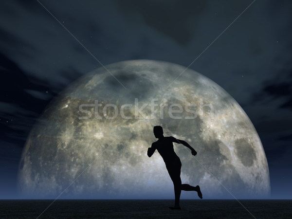 moonshine jogger Stock photo © drizzd