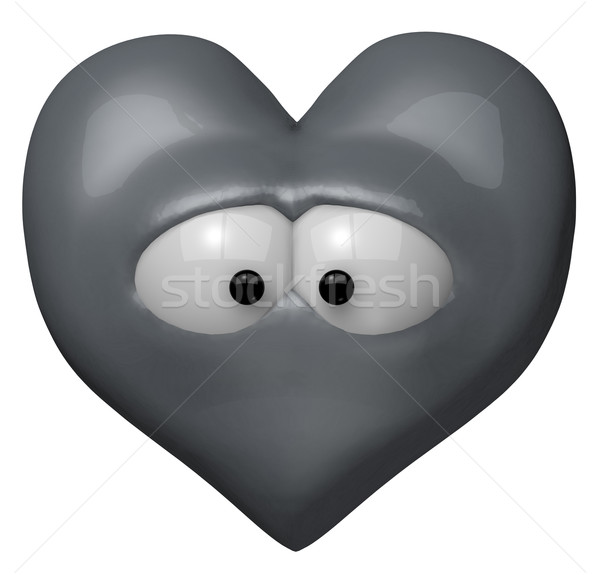 sad heart Stock photo © drizzd