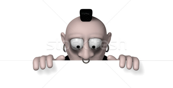 gothic cartoon character Stock photo © drizzd
