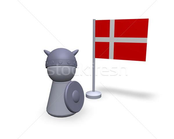 denmark viking Stock photo © drizzd