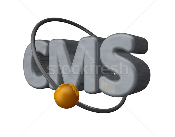cms Stock photo © drizzd
