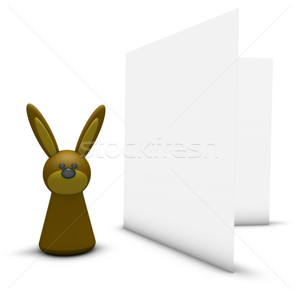 easter greeting card Stock photo © drizzd