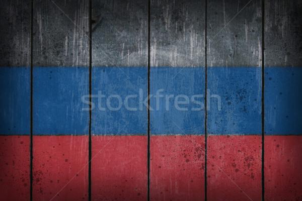 Rosyjski malowany starych rana tekstury Zdjęcia stock © drizzd