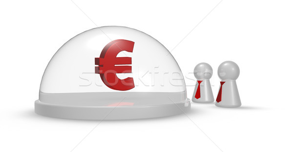 euro symbol Stock photo © drizzd