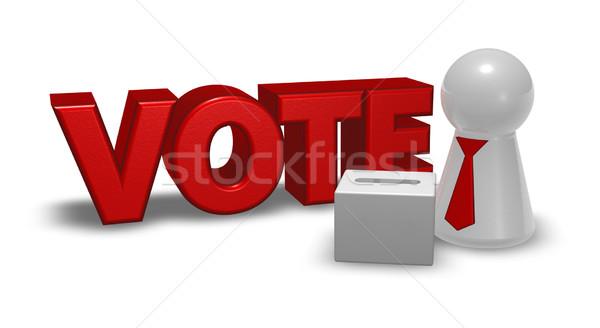 vote box Stock photo © drizzd