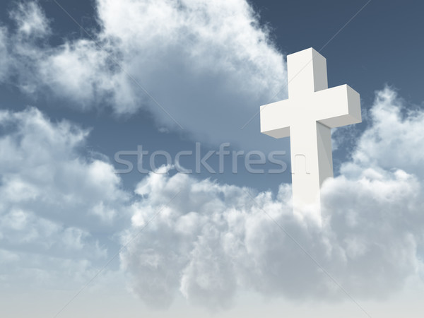 christian cross Stock photo © drizzd